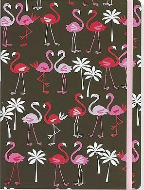 Pink Flamingos Mid-Size Journal