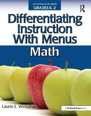 Differentiating Instruction With Menus Math Laurie E Westphal