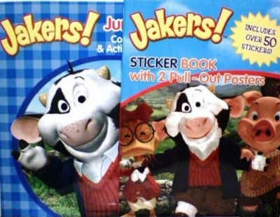 Jakers Jumbo Coloring & Activity Book