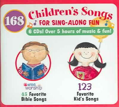168 Children's Songs For Sing-along Fun