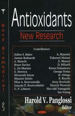 Antioxidants : New Research – Harold V. Panglossi