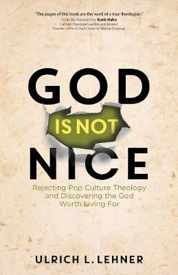 God Is Not Nice  Rejecting Pop Culture Theology and Discovering the God Worth Living For