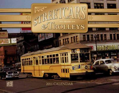 Streetcars & Trolleys Wall Calendar