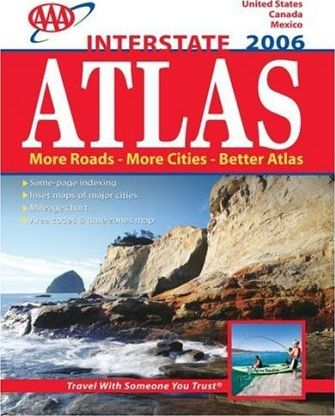 AAA Interstate Road Atlas 2006