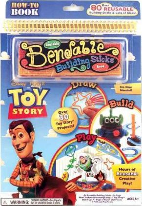 Toy Story Bend N Build Book