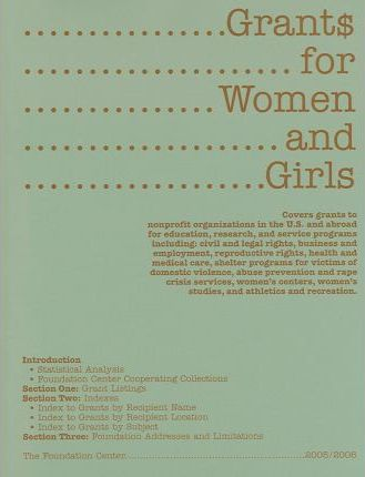 Grants for Women And Girls 2005/2006