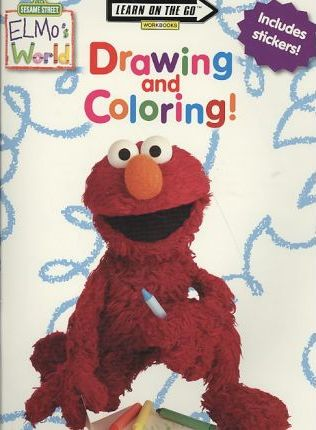 Elmo's World Drawing and Coloring!