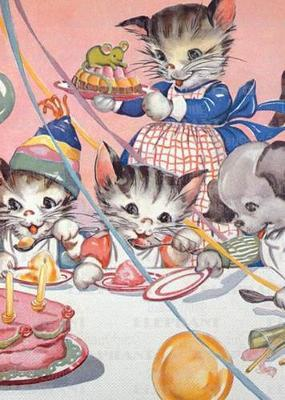 Cats Birthday Party