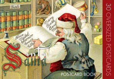 Santa Claus Postcard Book