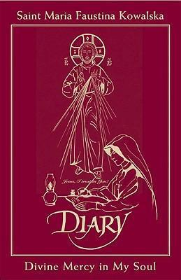 Diary of Saint Maria Faustina Kowalska - In Burgundy Leather