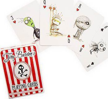 Tim Burton Playing Cards Cover Image