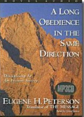 An Long Obedience in the Same Direction