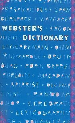 Webster's Dictionary-Blue