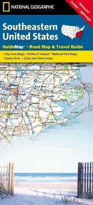Southeastern USA : National Geographic Maps ...