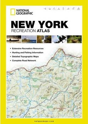 New York : National Geographic Maps : 9781597755542