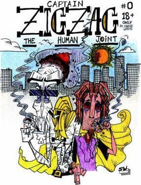 Captain Zig Zag / Black Lungs the Cat Cover Image