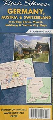 Rick Steves\' Germany, Austria, and Switzerland Map : Rick Steves ...