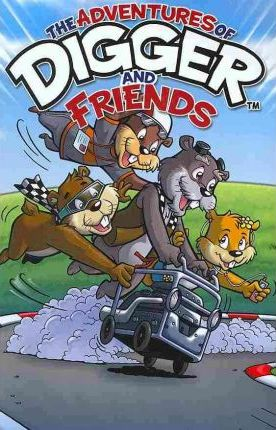 Digger & Friends Cover Image