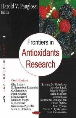 Frontiers in Antioxidant Research – Harold V. Panglossi