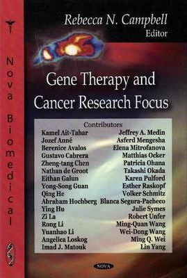 Gene Therapy and Cancer Research Focus