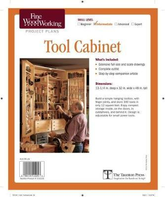 Fine Woodworking S Tool Cabinet Plan Editors Of Fine Woodworking