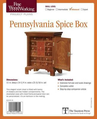 Fine Woodworking S Pennsylvania Spice Box Plan Editors Of Fine