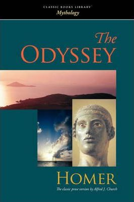 The Odyssey--Church Translation Cover Image