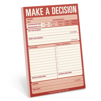Knock Knock Pads: Make a Decision Pad