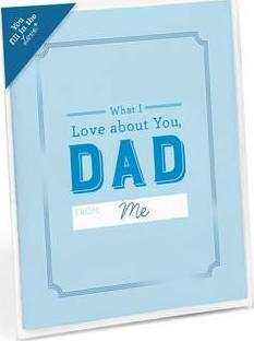 Knock Knock What I Love About Dad Fill in the Love Card Booklet