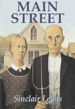 Main Street by Sinclair Lewis, Fiction, Classics Cover Image