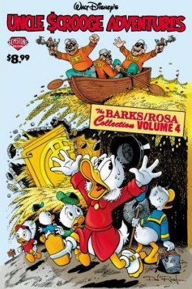 Uncle Scrooge Adventures: Mysterious Stone Ray/cash Flow