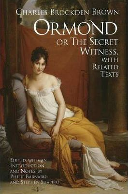 Ormond; or, the Secret Witness Cover Image