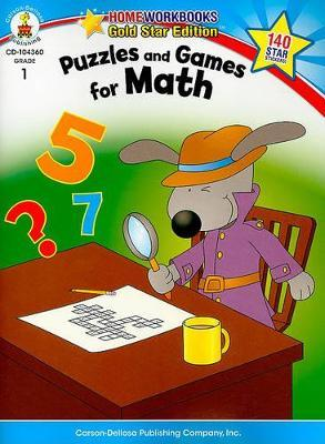 Puzzles and Games for Math, Grade 1