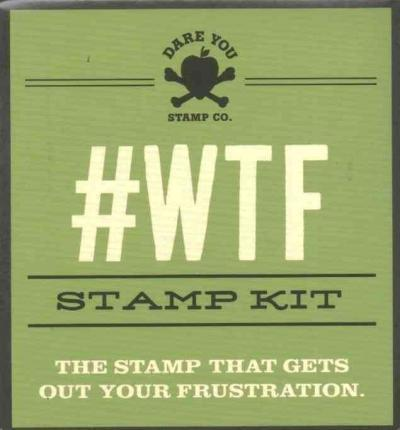 Astrosadventuresbookclub.com #Wtf Stamp Kit : The Stamp That Gets Out Your Frustration Image