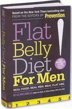 Flat Belly Diet! For Men : Real Food, Real Men, Real Flat Abs