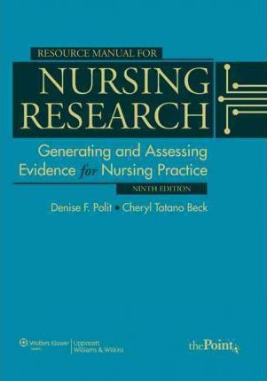Resource Manual For Nursing Research Generating And