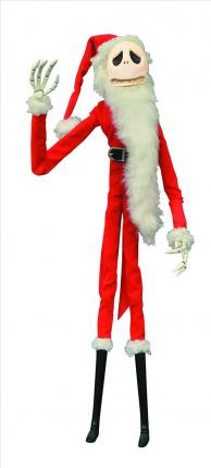Nightmare Before Christmas Unlimited Santa Jack Coffin Doll