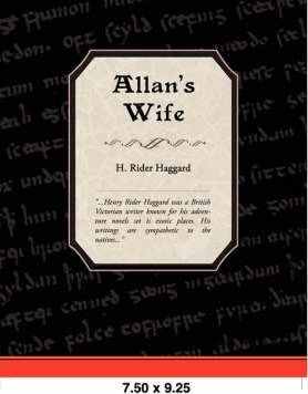 Allan's Wife Cover Image
