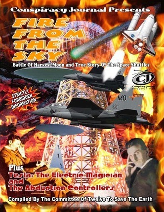 Fire From The Sky-Battle Of Harvest Moon & True Story Of The Space Shuttles (BOOK & CD)