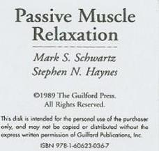 Passive Muscle Relaxation