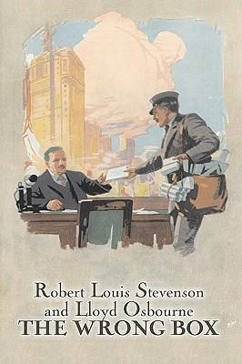 The Wrong Box by Robert Louis Stevenson, Fiction, Classics, Action & Adventure Cover Image