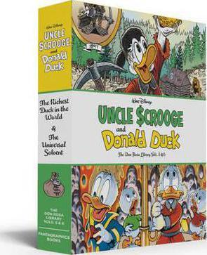 Walt Disney Uncle Scrooge and Donald Duck: The Don Rosa Library, Vols. 5 & 6 Cover Image