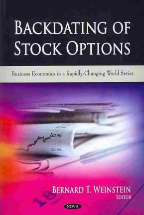Backdating stock options canada