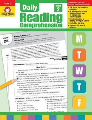 Daily Reading Comprehension, Grade 2 Te : Evan-Moor Educational