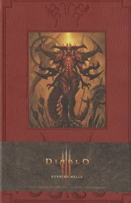 Diablo Burning Hells Hardcover Blank Journal