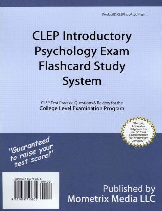 Clep Introductory Psychology Exam Flashcard Study System Exam