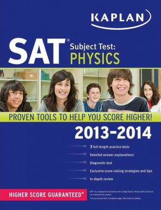 Kaplan SAT Subject Test Physics 2013-2014