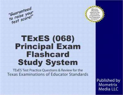 texes principal (068) flashcard study system : exam secrets test ...