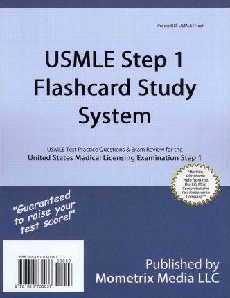 USMLE Step 1 Flashcard Study System : Exam Secrets Test Prep Staff