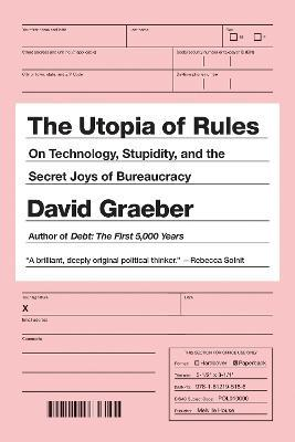 The Utopia Of Rules Cover Image